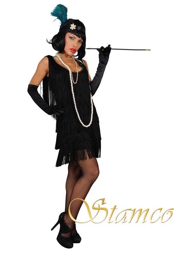 f9188c4b30c Dámský kostým charleston černý