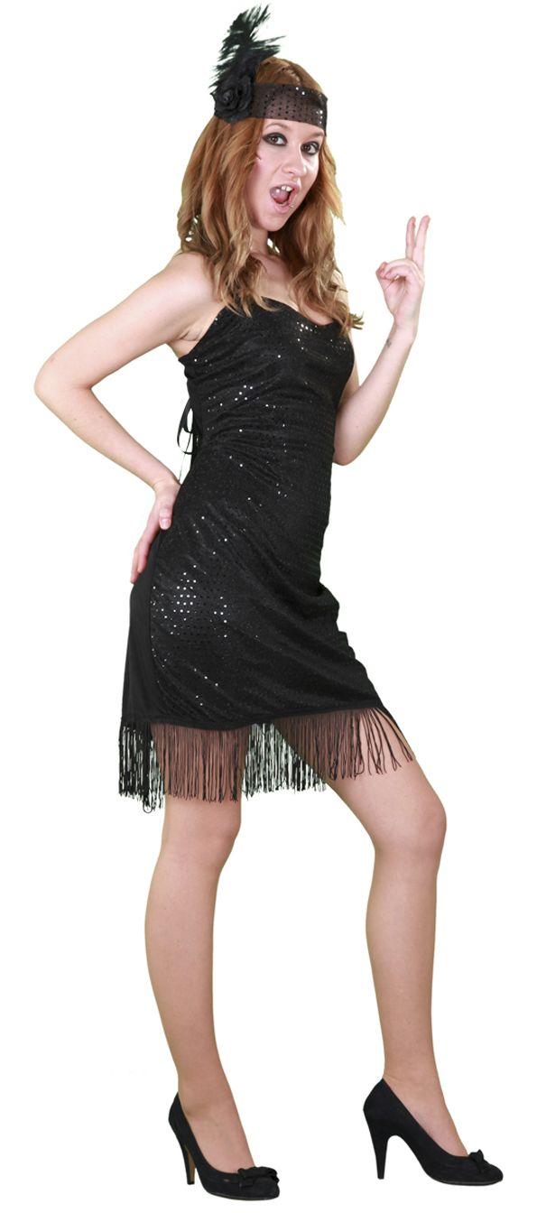 1766f83e92b Dámský kostým Charleston (černý)