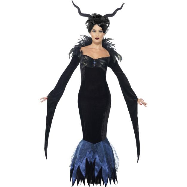 Dámský kostým Havraní královna  943a01e28a1