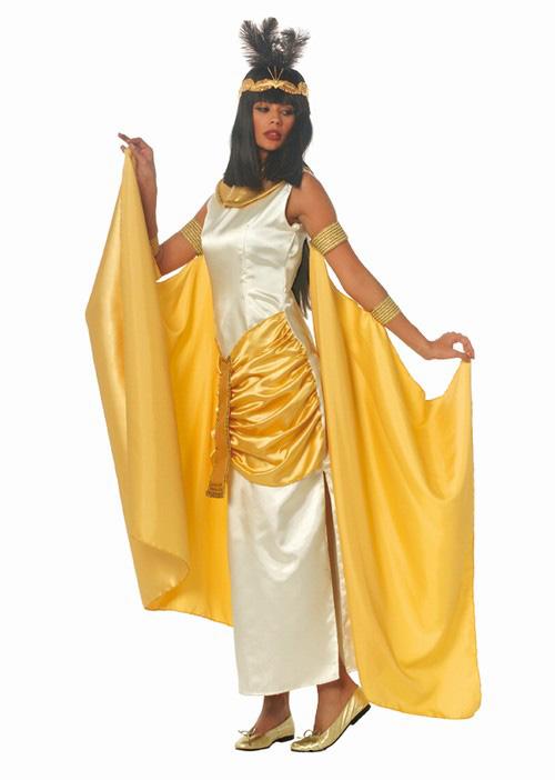 Dámský kostým Kleopatra (zlatý)  7f11a91b41a