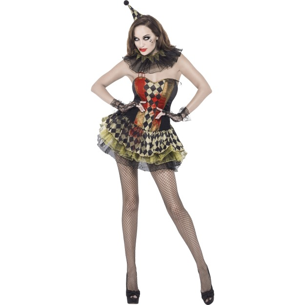 58fabb40a54c Dámský kostým sexy zombie klaun