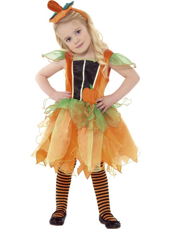 Dětský kostým dýně s čelenkou  fd8fc917060