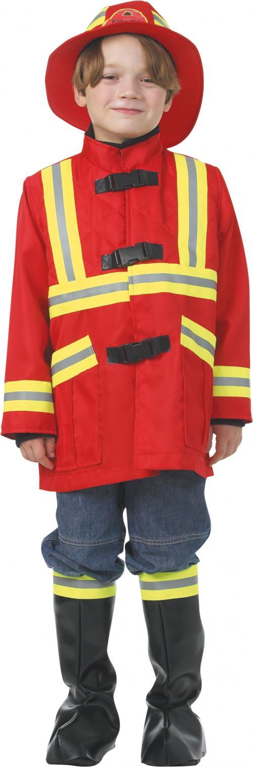 Dětský kostým hasič (červený)  6237ab858a9