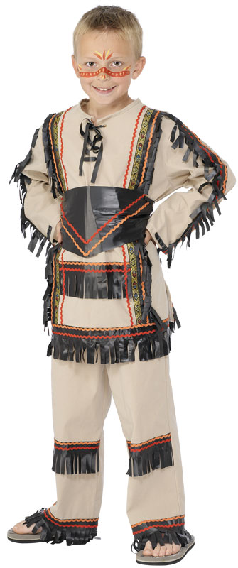 Dětský kostým Indián  e58a9c7149