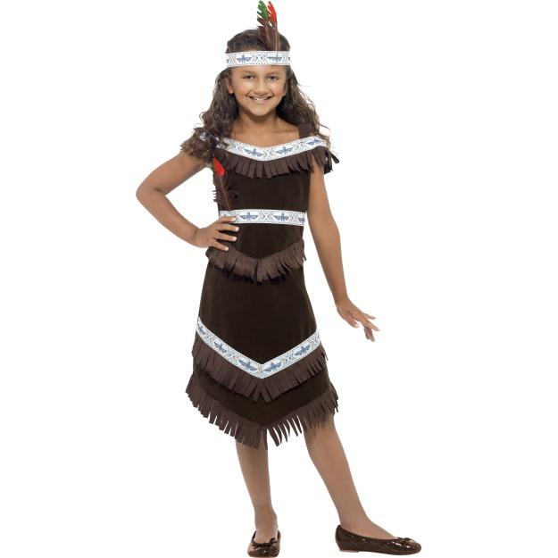Karnevalové kostýmy indián a indiánka  e060bd7ac3