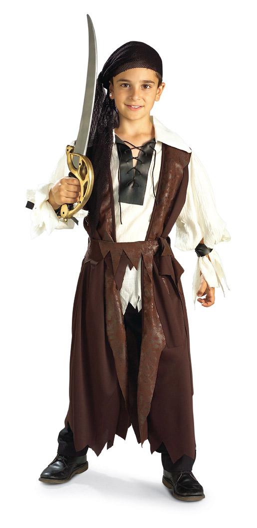 Dětský kostým pirát s černým šátkem  5c862b60ee9