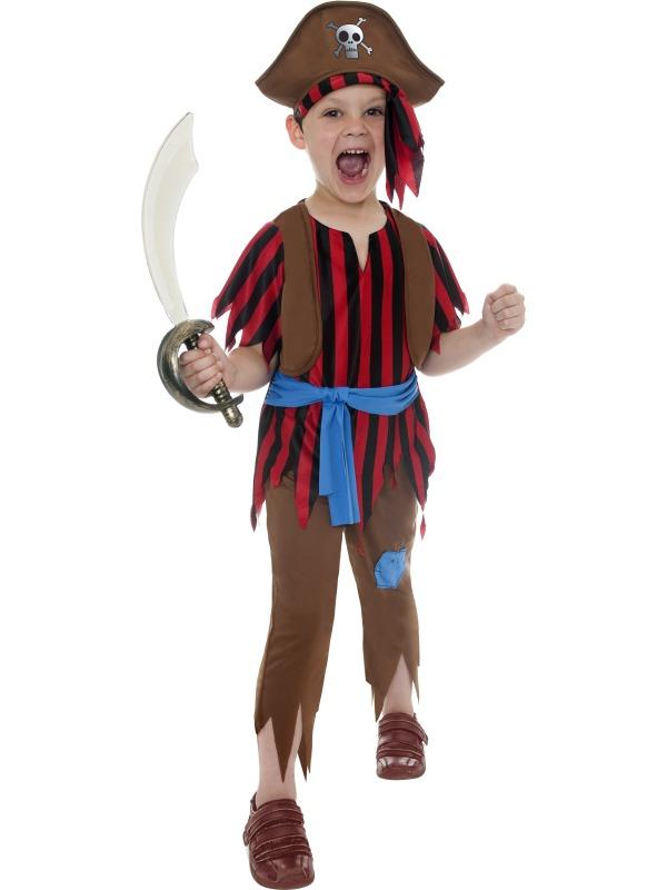 Dětský kostým pirát s kloboukem  d5455acffa7