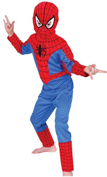 Kostým Spiderman - licence Marvel - morphsuit Realistický a velmi výstřední kostým - prémiová kvalita! Kostým obsahuje: overal s potiskem. S morhpsuitem můžete dýchat, vidět a dokonce i pít! V tomto nepřehlédnutelném kostýmu Spidermana se stanete se legendou!