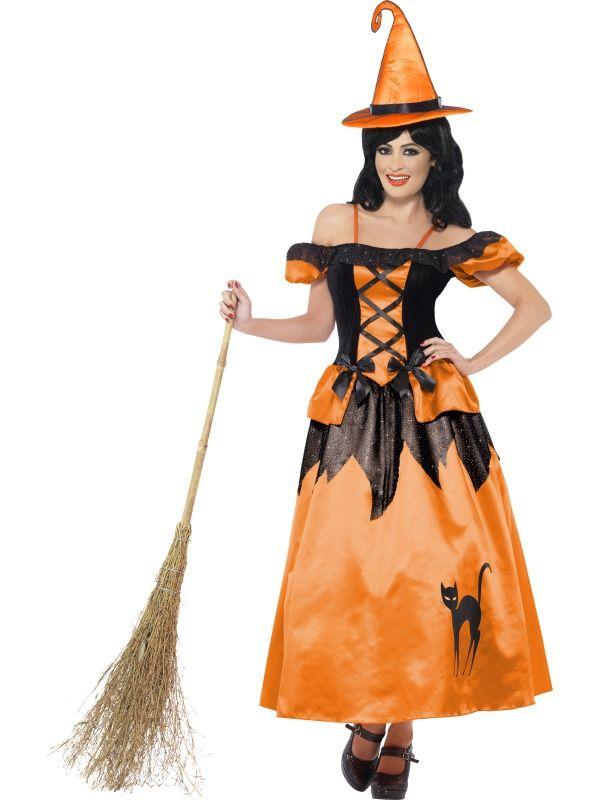 ac7d06eedac Dámský kostým Čarodějnice z knížky
