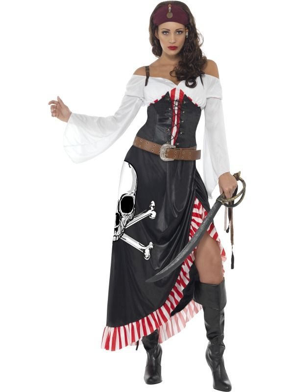 b5f4d13e547a Dámský kostým Smyslná pirátka