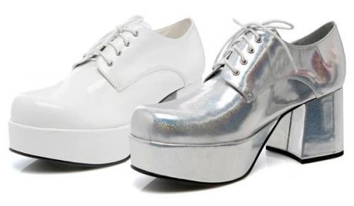 Pánské boty Disko stříbrné vel. 4648  bef2a573fd