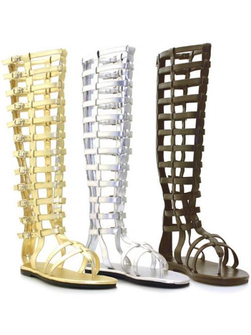 cea49d1c1d13 Římské sandály hnědé vel. 46 - 48