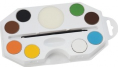 Barva na obličej a tělo - 8 barev