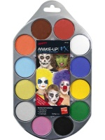 Barva na obličej a tělo - sada 12 barev