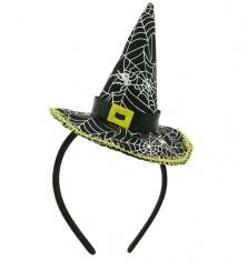 db45ddb8fa3 Čarodějnický klobouček na čelence