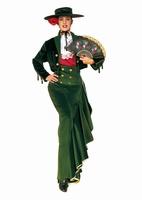 Dámský kostým Andalousianka