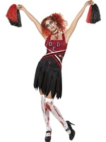 Dámský kostým High School zombie cheerleader