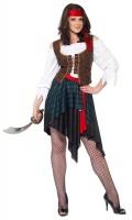 Dámský kostým pirátka (se šátkem)