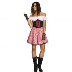 Dámský kostým - pirátka