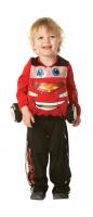 Dětský kostým Blesk McQueen Cars 2 deluxe