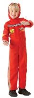 Dětský kostým Blesk McQueen Cars 2 (overal s kapucí)