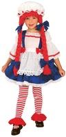 Dětský kostým hadrová panenka