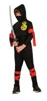 Dětský kostým Ninja se zlatou kobrou