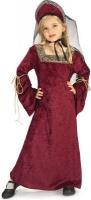 Dětský kostým středověká princezna