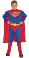 Dětský kostým Superman svalnatý deluxe