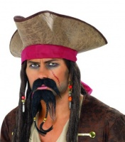 Knír a bradka pirát (Jack Sparrow)