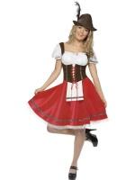 Dámský kostým Bavorské děvče - oktoberfest