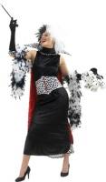 Dámský kostým Cruella Devil 101 dalmatinů