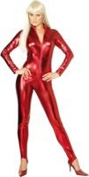 Dámský kostým Kočičí oblek červený