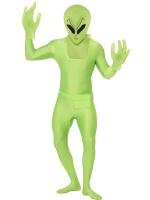 Pánský kostým Mimozemšťan overal