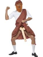 Pánský kostým Well hung highlander