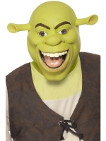 Latexová maska Shrek