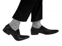 Michael Jackson Stříbrné ponožky dětské