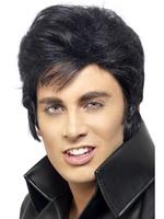 Pánská paruka Elvis (hladký účes)