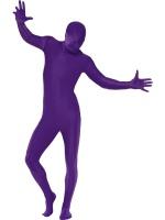 Pánský kostým fialová kůže