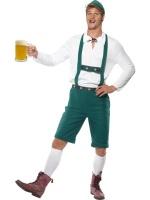 Pánský kostým October fest,zelený