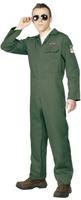 Pánský kostým pilot (zelený)