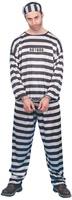 Pánský kostým vězeň s čísly