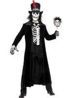 Pánský kostým zombie woodoo man