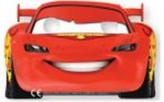 Papírové masky Auta (Blesk McQueen)