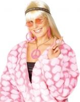Dámská sada hippiesačka (růžová)