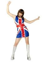 Dámské šaty Britská vlajka