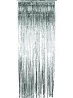 Závěs do dveří 91x244 cm stříbrná