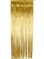 Závěs do dveří 91x244 cm zlatá